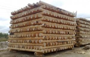 Оцилиндрованное бревно – правильная заготовка строительного материала