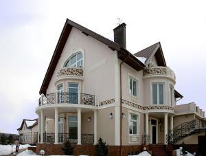 Архитектурное оформление фасадов