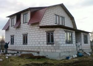Дома из пеноблоков