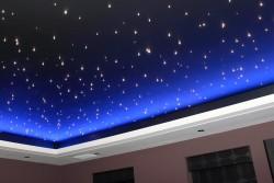 Натяжные потолки – «звездное небо»
