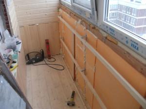 Правила утепления балкона