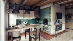 Русская печь – одна из самых традиционных систем отопления дома
