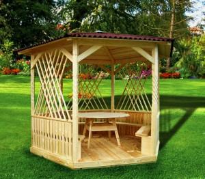 Деревянные беседки – украшение территории и лучшее место для отдыха