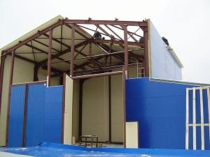 Сэндвич панели в строительстве