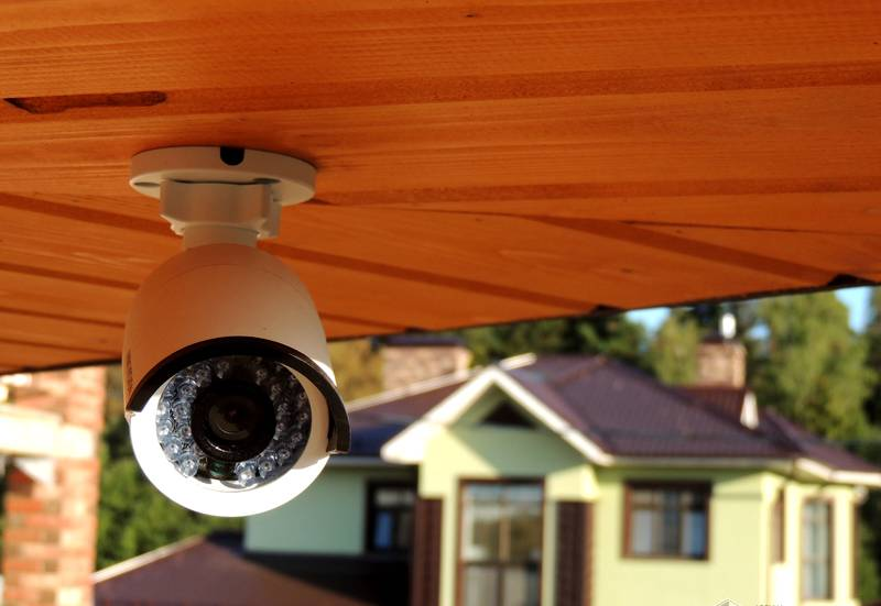 Системы видеонаблюдения в загородном доме